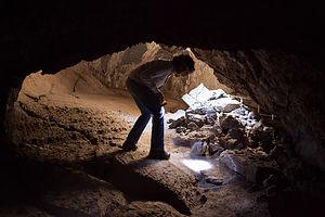 Lolo in Sunshine Cave