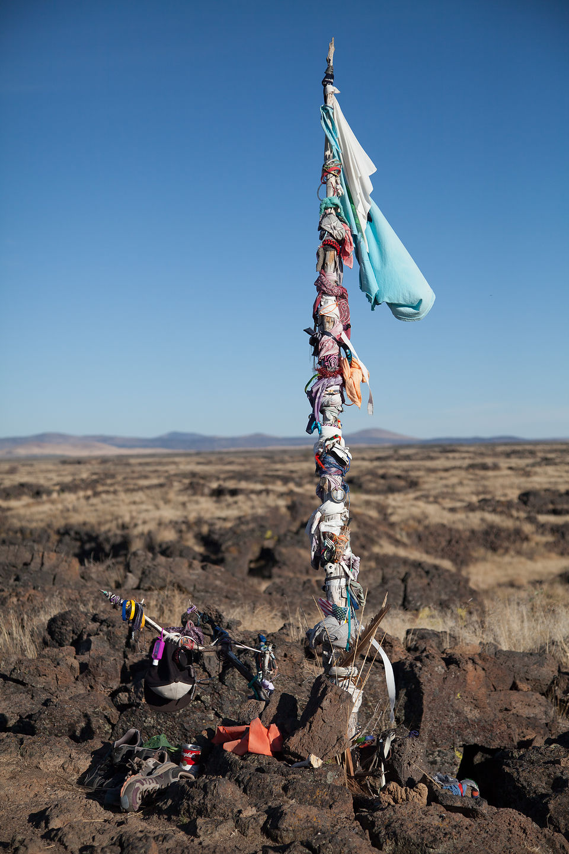 Native American Medicine Pole