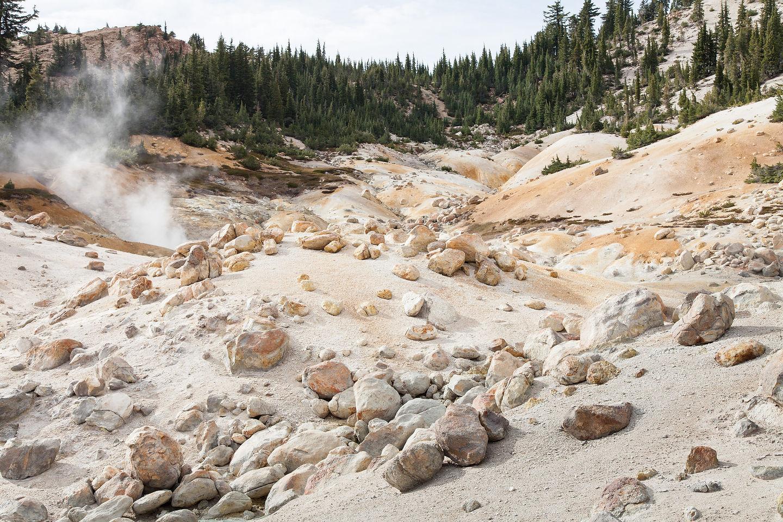 Bumpass Hell Landscape