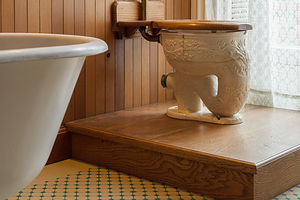 Bidwell Mansion Elephant Trunk Toilet