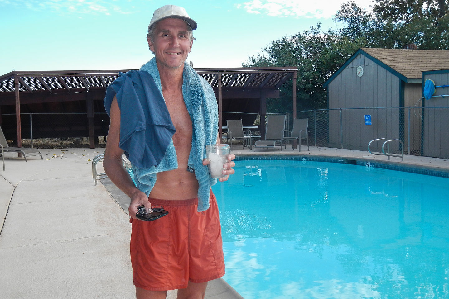 Herb at Auburn Gold Country RV Park Pool