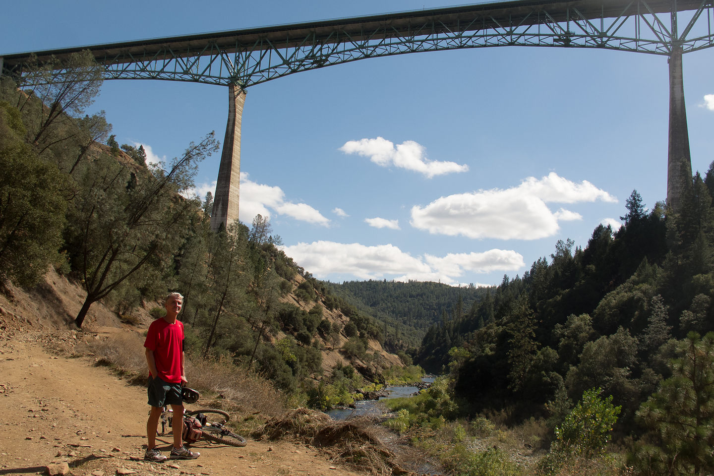 Herb Biking the North Fork of the American River