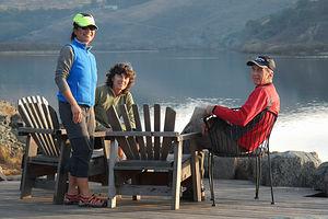 Post Kayaking Coffee at Cafe Aquatica