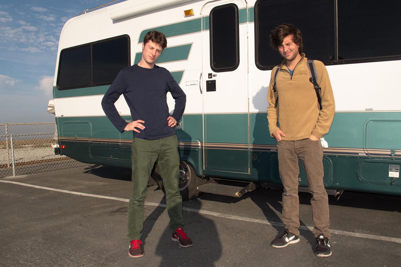 Boys at San Francisco RV Resort