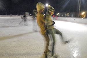 Ice Skating in Curry Village