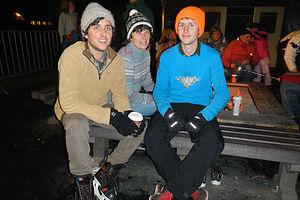 Happy Ice Skaters