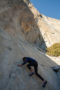 Bouldering El Cap