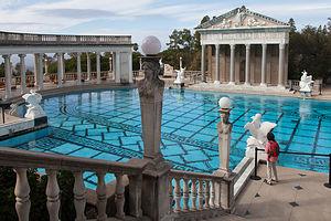 Hearst Castle Neptune Pool Entrance