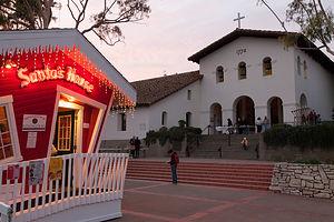 Santas House at Mission San Luis Obispo