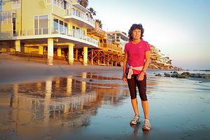 Lolo on Malibu Beach Run