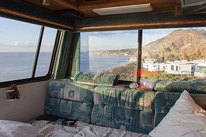 Malibu Beach RV Park view from Lazy Daze