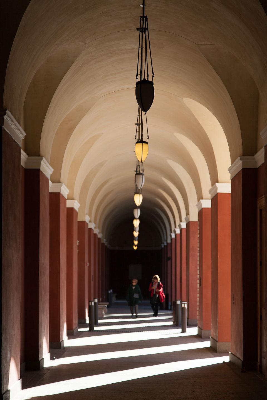 Getty Villa Arches