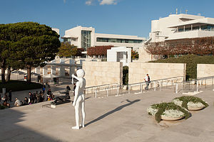 Getty Center Entrance Stairs