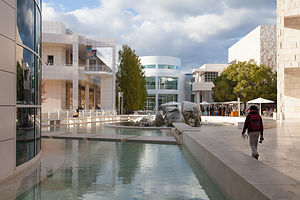 Getty Center Courtyard