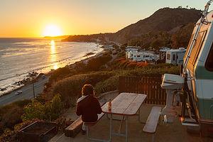 Malibu Beach RV Park Sunset