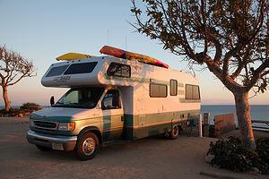 Malibu Beach RV Park Lazy Daze on Bluff
