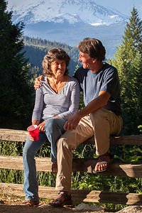 Herb & Lolo at Vista Point Viewpoint