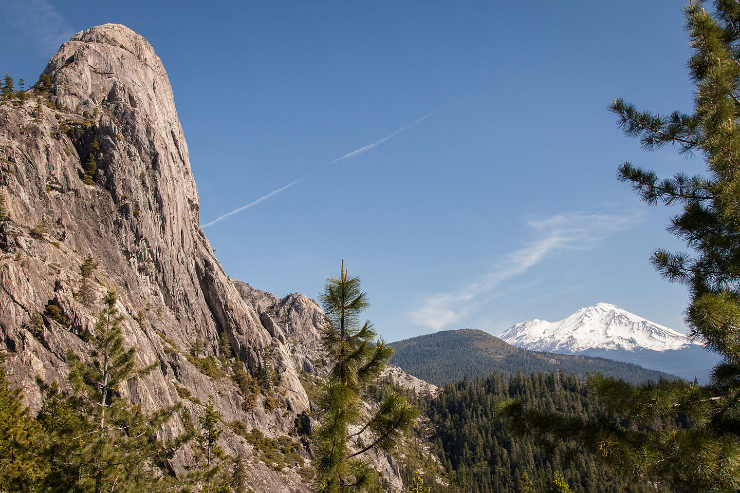 Castle Dome and Mount Shasta