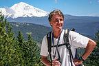 Herb with Mount Shasta
