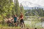 Biking the Lake Siskiyou Trail