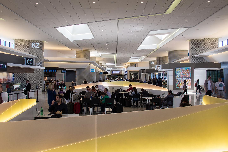 United Terminal at SFO
