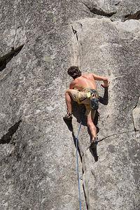 Andrew Climbing