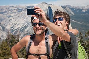 Tom's Sentinel Dome Summit Selfie