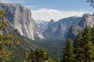 Yosemite Valley View from Inspiration Point