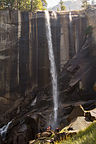 Vernal Falls in August during Drought