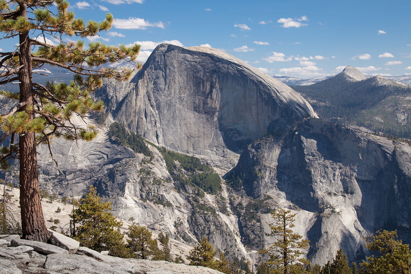 Half Dome View from North Dome