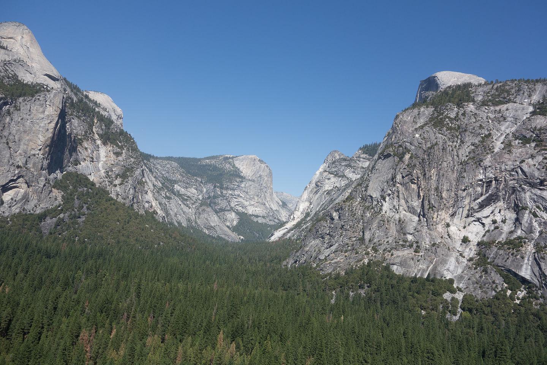 "Tenaya Canyon View from ""Harry Daley"""