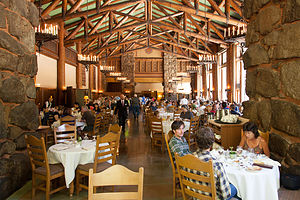 Brunch at the Ahwahnee