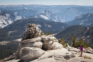 Half Dome from Mount Hoffman Summit