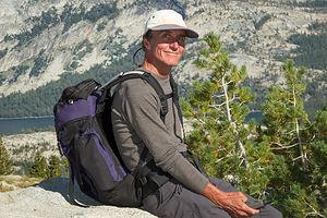 Herb on Mount Hoffman Hike