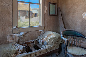 Bodie Interior Couch with Window View