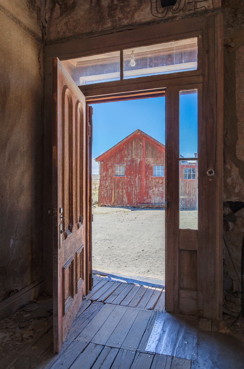 View from Doorway at Bodie