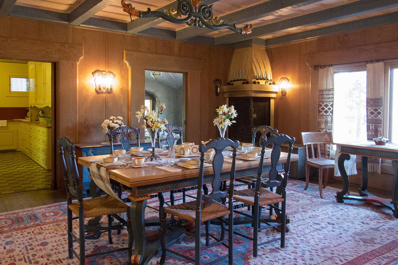 Vikingholm Mansion Dining Room