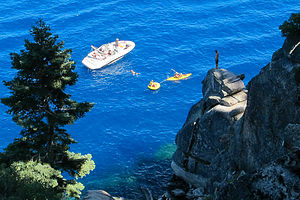 Cliff Diving on Rubicon Trail