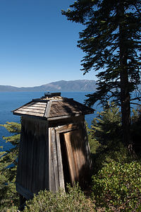 Lake Tahoe Old 1916 Lighthouse