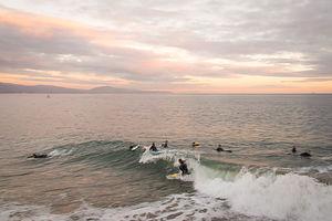 Santa Barbara Beach Surfers