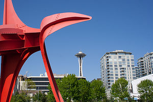 Red Calder in Olympic Sculpture Park