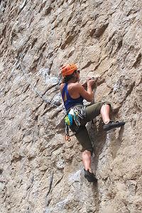 Celeste Climbing Central Owens River Gorge