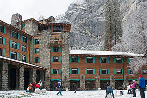 Ahwahnee Fun in the Snow
