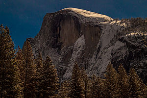 Moonlit Half Dome