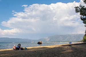 Camp Richardson Beach on Lake Tahoe