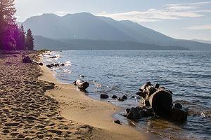Baldwin Beach on Lake Tahoe