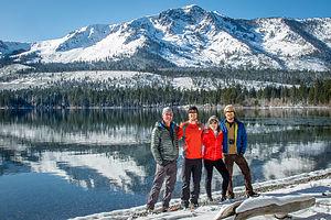 Family by Fallen Leaf Lake