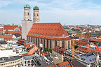 Frauenkirche from atop the Neues Rathaus