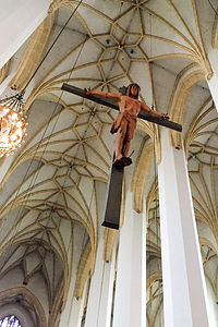 "Frauenkirche - Van Dyck's ""Christ on the Cross"""