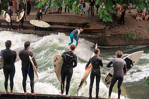 English Gardens Surfers